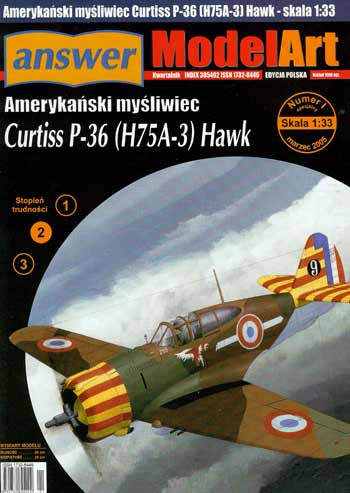 "Curtiss P-36 ""Hawk"""