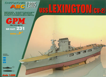 Авианосец USS Lexington (CV-2)